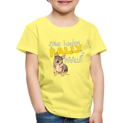 Vallhund Göötti Rally - Lasten premium t-paita