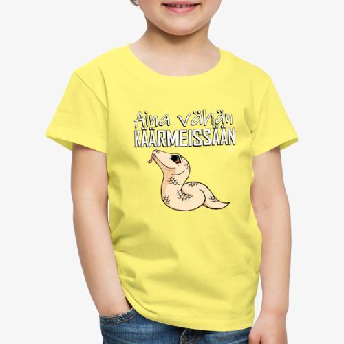 Vähän Käärmeissään III - Lasten premium t-paita