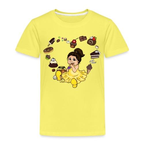 Schokoline und ihr süßer Traum - Kinder Premium T-Shirt