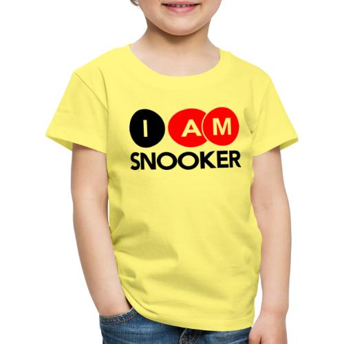 I AM SNOOKER - Kids' Premium T-Shirt