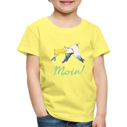 Lustige Moin Möwe von Volker Ernsting - Kinder Premium T-Shirt