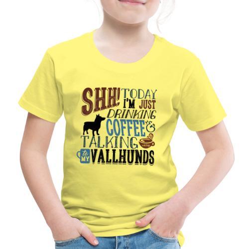 SHH Vallhund Coffee B 4 - Lasten premium t-paita
