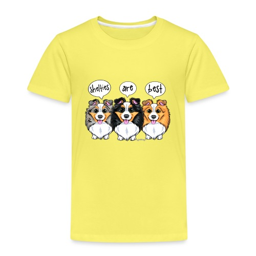 Shelties Are Best - Kids' Premium T-Shirt