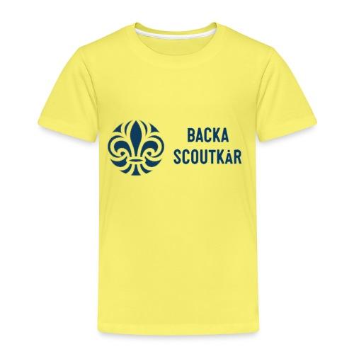 Backa Scoutkår - Premium-T-shirt barn