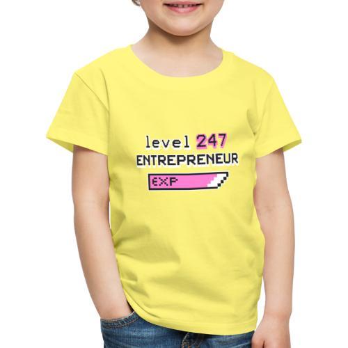 Level 247 Entrepreneur II - Lasten premium t-paita