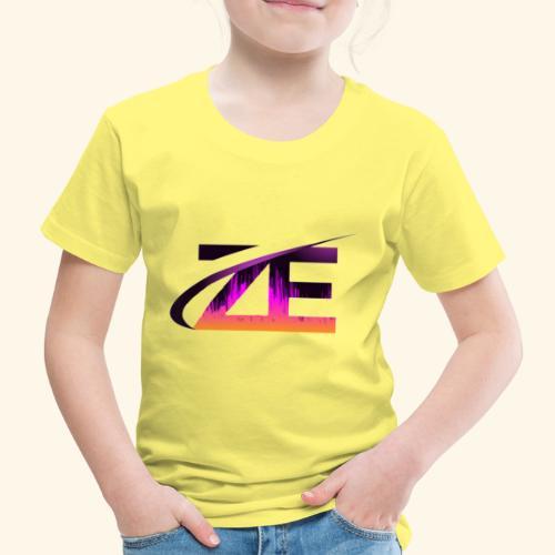 Official ZE's logo - Kids' Premium T-Shirt