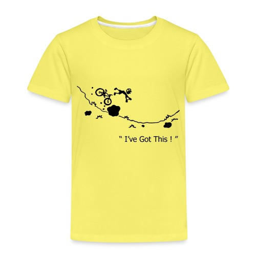 I've Got This! Bike Crash - Kids' Premium T-Shirt