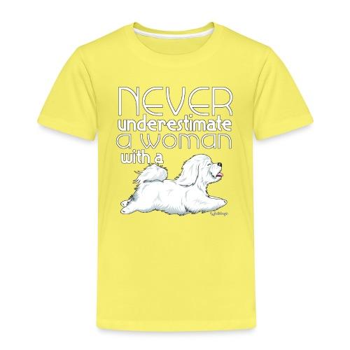 Coton De Tuléar Woman - Kids' Premium T-Shirt