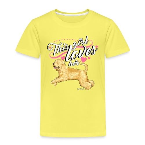 Wheaten Terrier Girl 2 - Kids' Premium T-Shirt