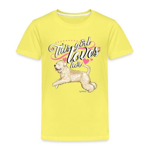 Wheaten Terrier Girl - Kids' Premium T-Shirt