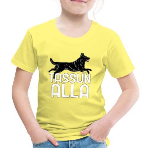 Saksanpaimen Tassu 3 - Lasten premium t-paita