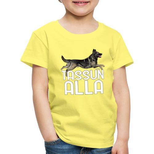 Saksanpaimen Tassu - Lasten premium t-paita