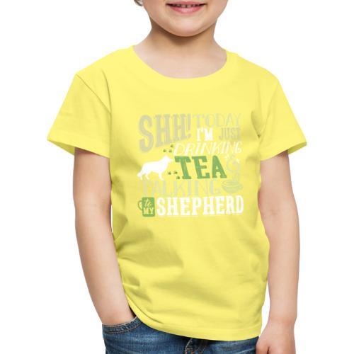 SHH GSD Tea 4 - Lasten premium t-paita