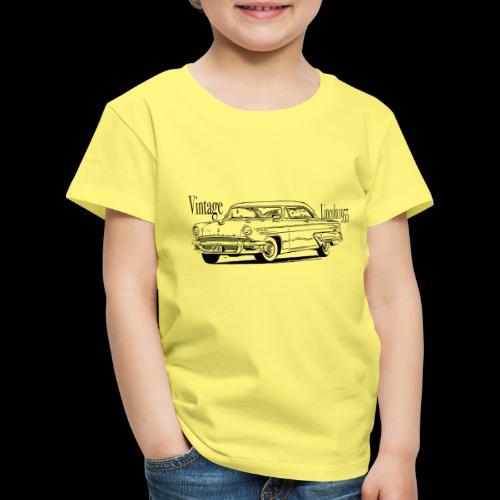Auto Autokollektion vintage Lincoln schwarz - Kinder Premium T-Shirt