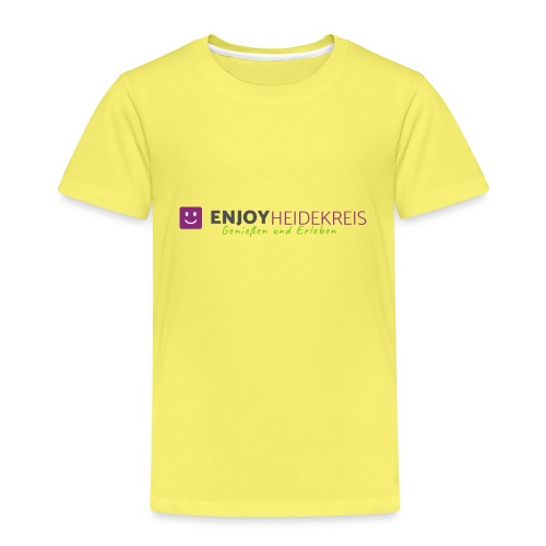 Enjoy Heidekreis - Das Design zum Blog - Kinder Premium T-Shirt