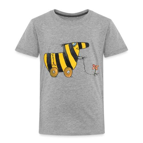 Janoschs Tigerente mit Blume - Kinder Premium T-Shirt