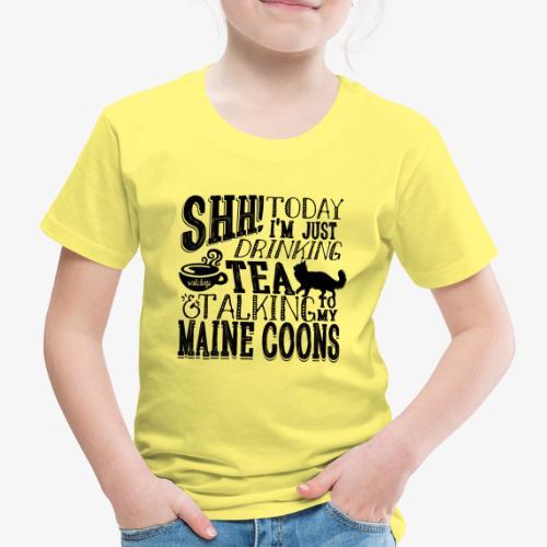 SHH Maine Coon Tea - Lasten premium t-paita