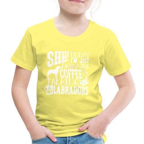 SHH Labrador Coffee 3 - Lasten premium t-paita