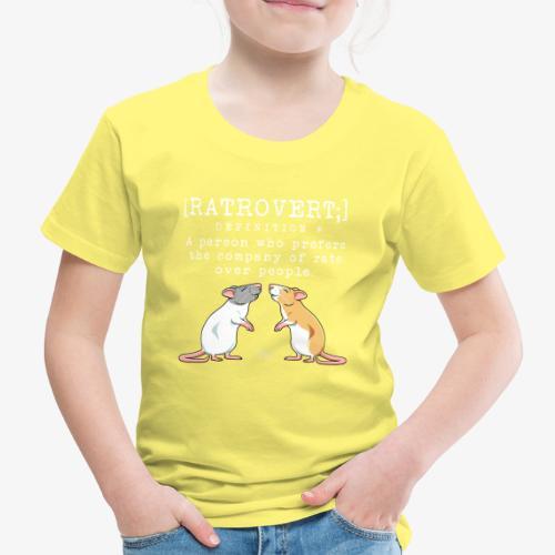 Ratrovert VI - Lasten premium t-paita