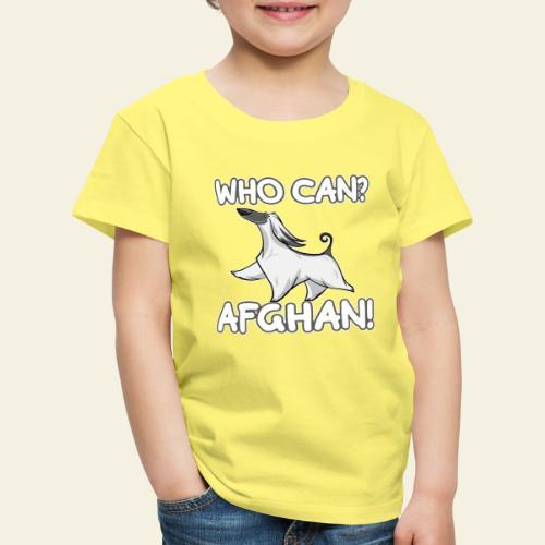 Who Can Afghan III - Lasten premium t-paita