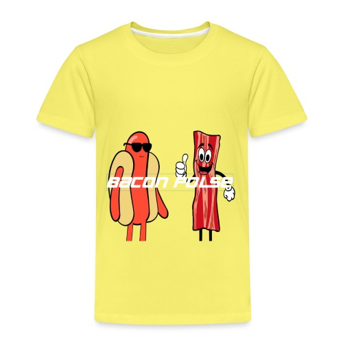 BACON & POLSE (ANIMATON EDITION) - Premium T-skjorte for barn