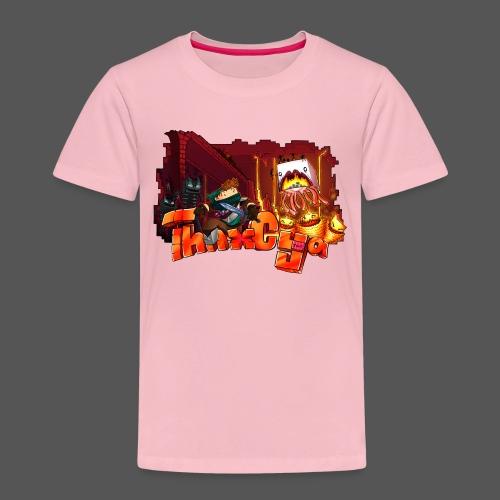 ThnxCya tshirt nether design by Jonas Nacef png - Kids' Premium T-Shirt