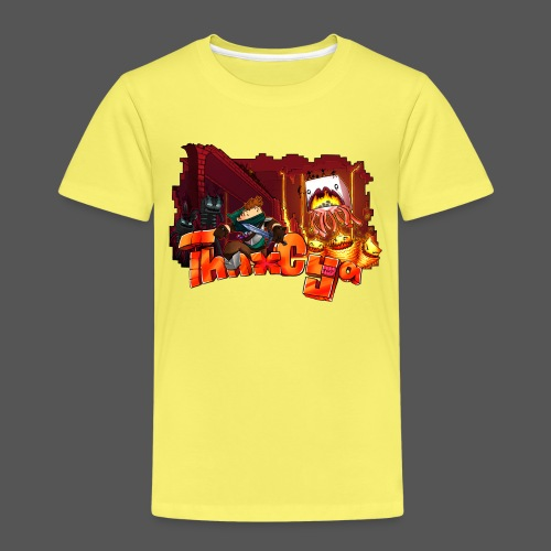 ThnxCya tshirt nether design by Jonas Nacef png - Kids' Premium T-Shirt