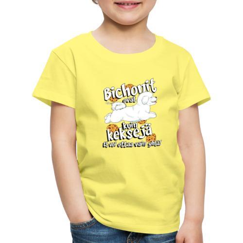 bichonkeksit - Lasten premium t-paita