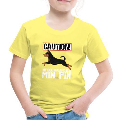 minpincaution - Lasten premium t-paita