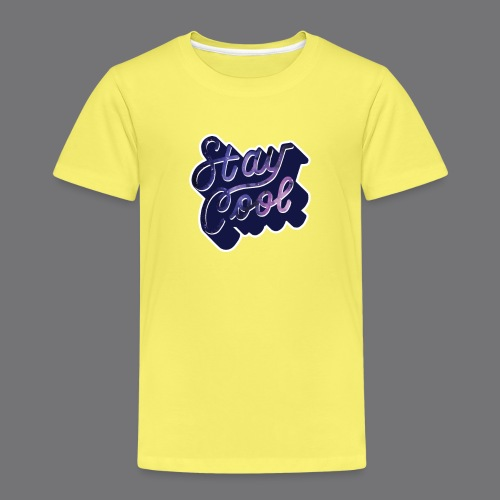STAY COOL IN SPACE Tee Shirts - Kids' Premium T-Shirt