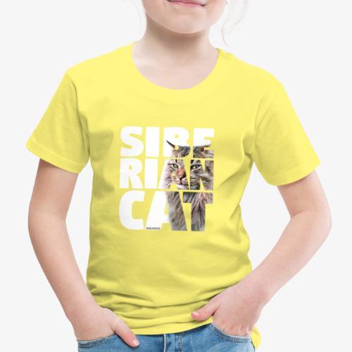 nassusiberiancat2 - Lasten premium t-paita