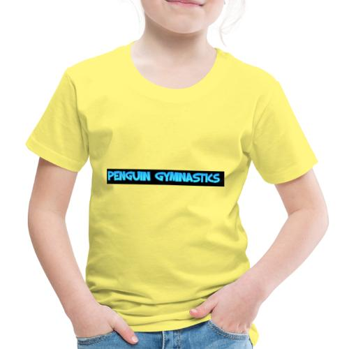 The penguin gymnastics - Kids' Premium T-Shirt