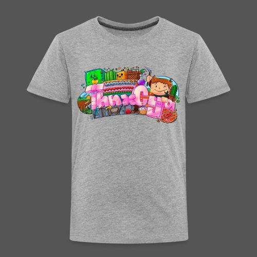 ThnxCya tshirt generic design 03 by Jonas Nacef - Kids' Premium T-Shirt