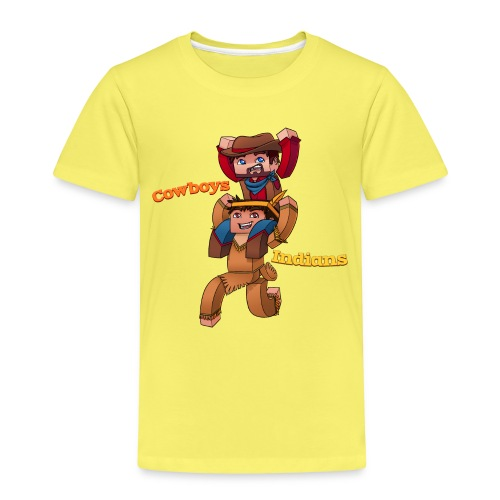 Cowboys with Text png - Kids' Premium T-Shirt