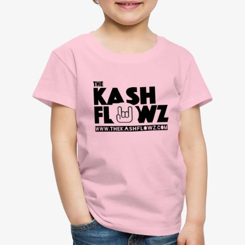 The Kash Flowz Official Web Site Black - T-shirt Premium Enfant