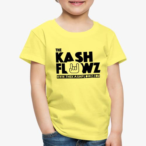 The Kash Flowz Official Web Site Black - T-shirt Premium Enfant