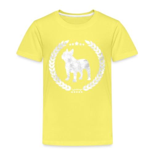 French Bulldog Army Silver - Kids' Premium T-Shirt