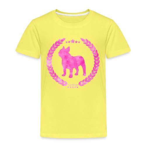French Bulldog Army Pink - Kids' Premium T-Shirt