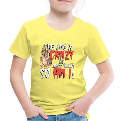 Vallhund Göötti Crazy2 - Lasten premium t-paita