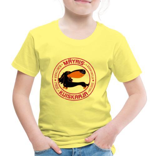 Mäyriskuiskaaja V - Lasten premium t-paita
