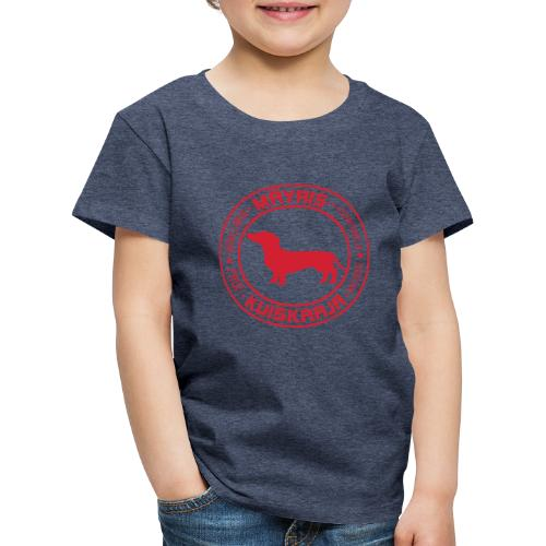 Mäyriskuiskaaja RED II - Lasten premium t-paita