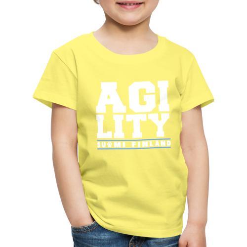 Agility Suomi - Lasten premium t-paita