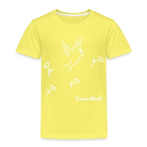 L'oiseau liberté (version light) - T-shirt Premium Enfant
