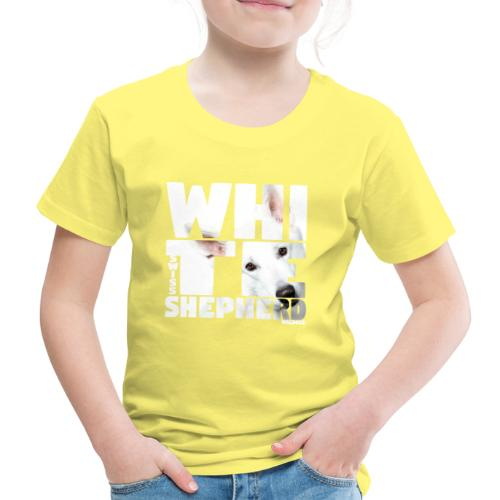 NASSU White Shepherd - Lasten premium t-paita