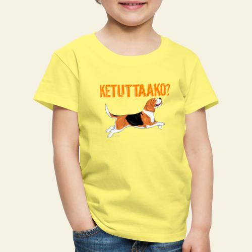 Ketuttaako Beagle - Lasten premium t-paita