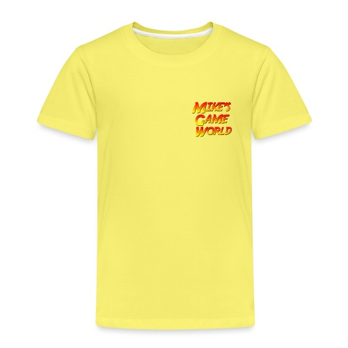 New Logo - Kinderen Premium T-shirt