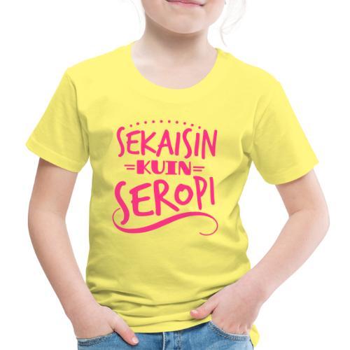 Sekaisin kuin SeRoPi 2 - Lasten premium t-paita