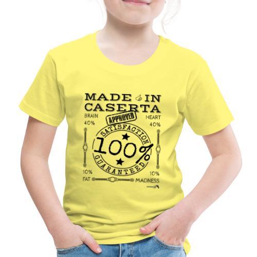 1.02 Made in Caserta - Maglietta Premium per bambini