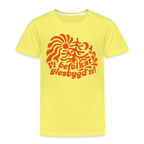 GLESGYGD'N - Premium-T-shirt barn