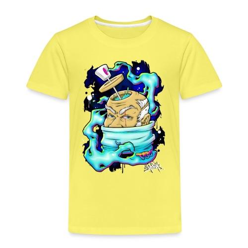 Spray Genius - Graffiti character design - T-shirt Premium Enfant